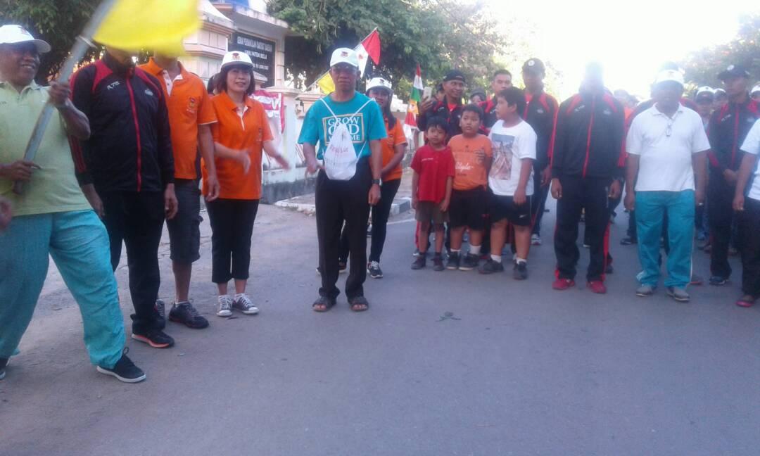 Komunitas ME Keuskupan Atambua Adakan Jalan Santai