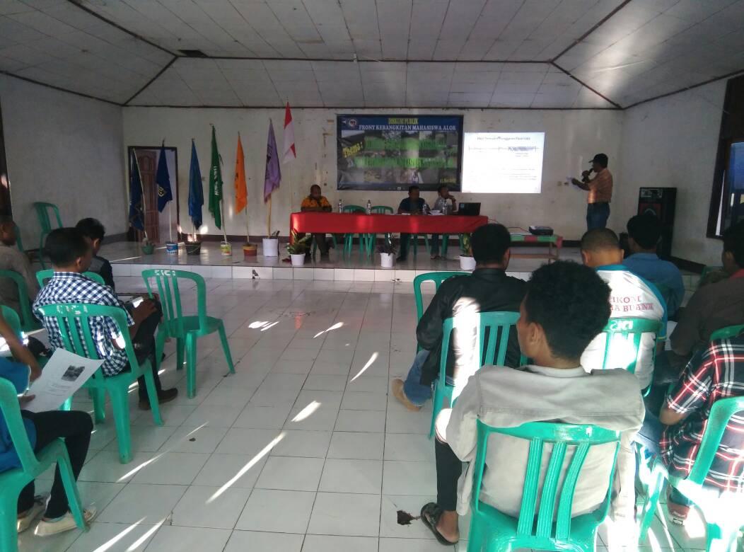 Diskusi FKMA di Kupang.