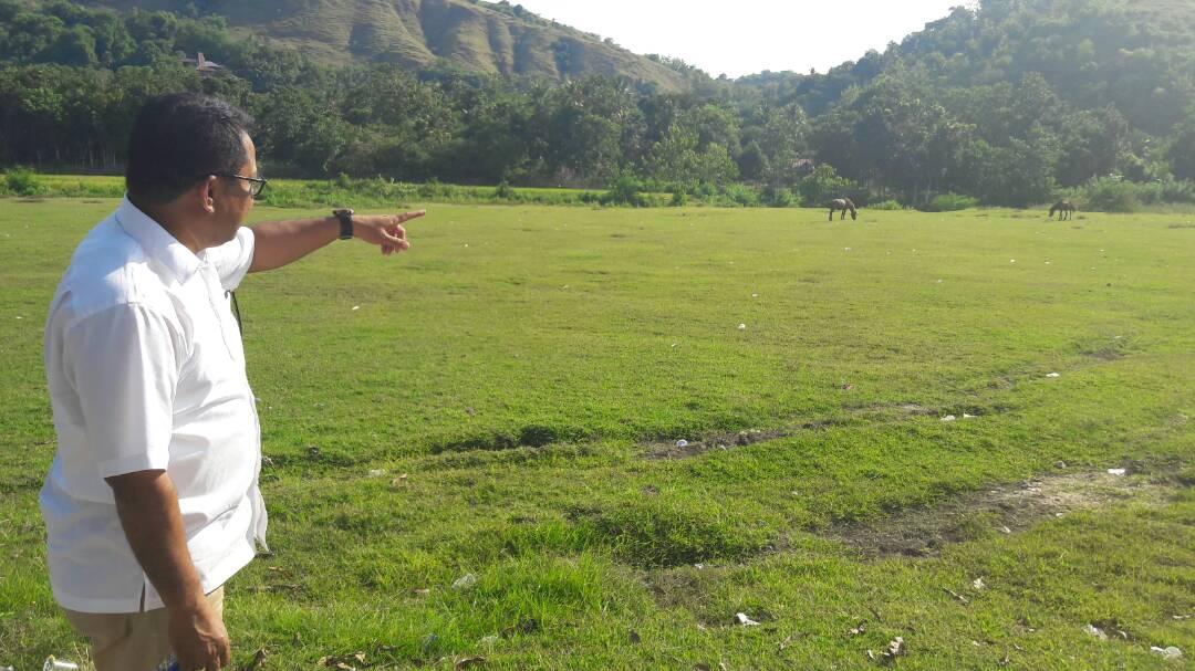 Lokasi pembangunan arena Pasola.