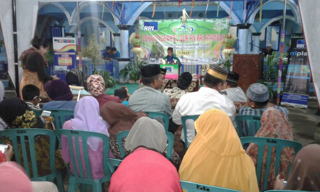 Lomba Tilawatil Qur'an di Atambua.