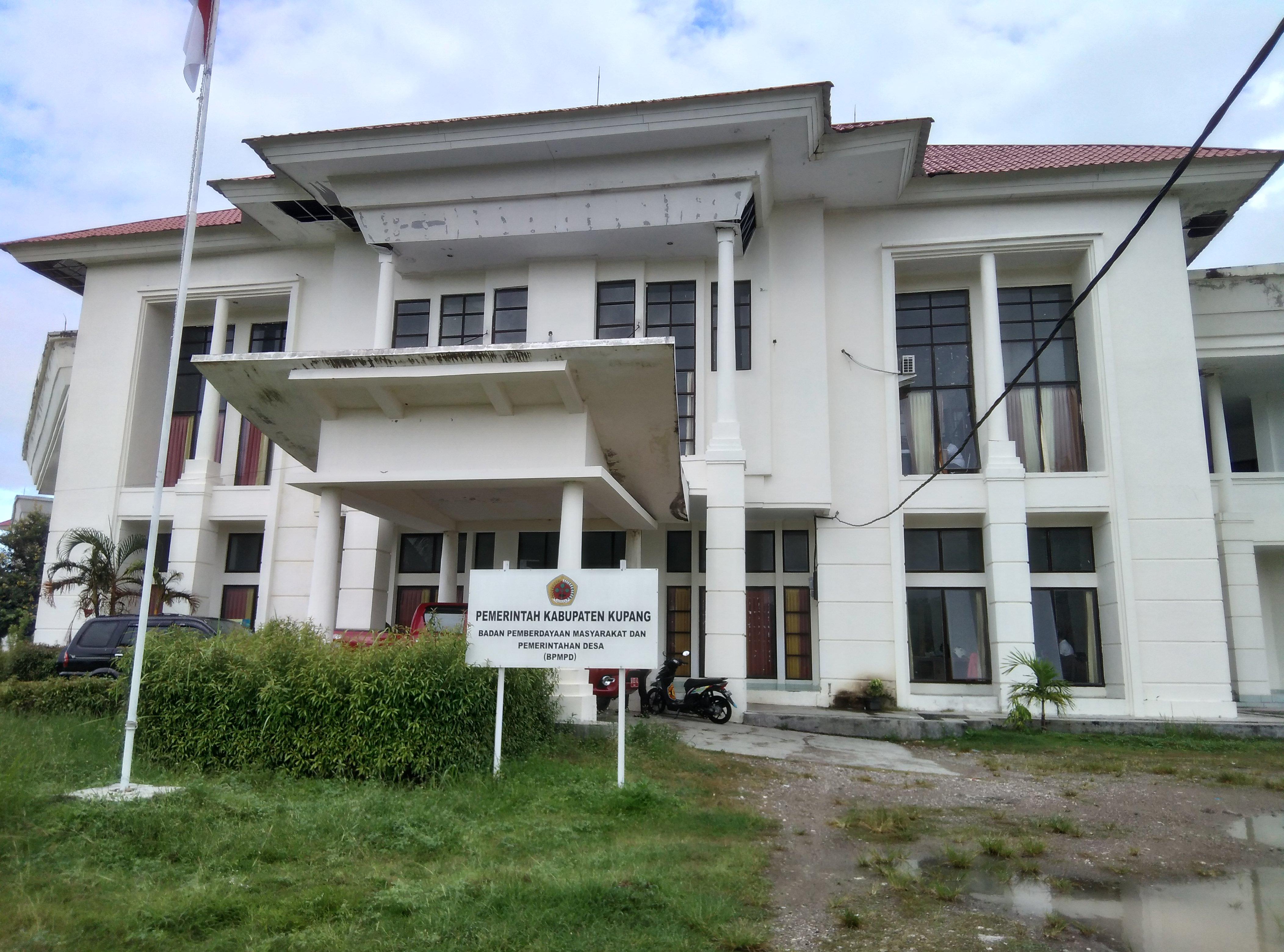 Kantor BPMD Kabupaten Kupang.