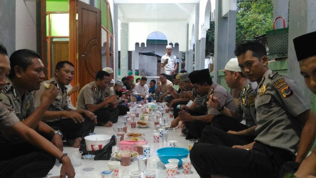 Buka puasa bersama Polres Kupang.