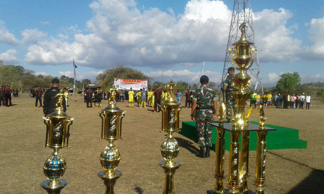 16 Tim Ikut Turnamen Piala Kemerdekaan di Batas RI-RDTL – KILASTIMOR.com